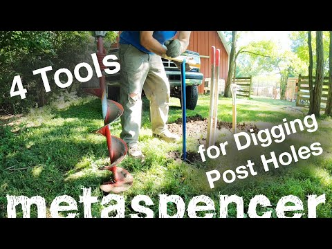 4 Tools For Digging Post Holes ... Which Is Best?