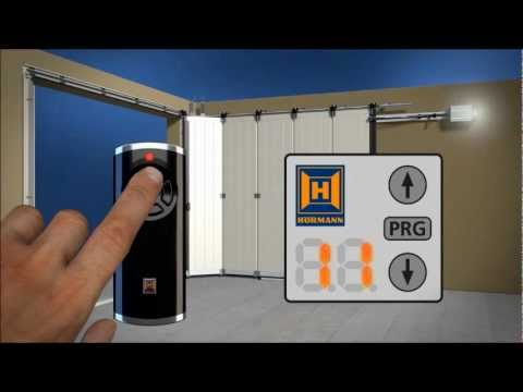 Hormann vid o d 39 installation de porte de garage lat rale for Porte de garage 5m hormann