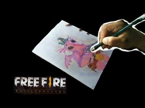 Full Download Free Fire Nueva Mascota Aprende A Dibujar Y Colorear