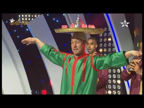 مجموعة البلدي الجرفية على القناة الأولى مع رقصة الصينية