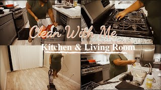 Clean With Me | Getting My Kitchen In Order | Cleaning Motivation