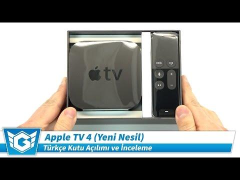 Apple TV 4 | Türkçe Kutu Açılımı ve İnceleme | Yeni Nesil, 4. Nesil | 4K UHD Kalitesinde