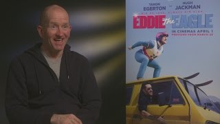 Eddie The Eagle: Eddie cried when he saw the film