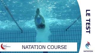 Natation course FFN: Le test - PASS'COMPÉTITION