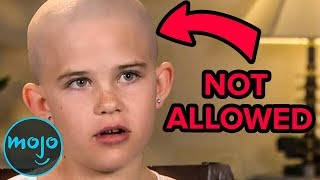 Top 10 Kids BANNED From School For Stupid Reasons