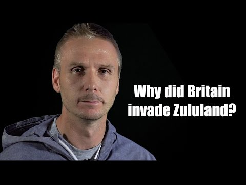 Redcoat's 5 min history - Why did Britain invade Zululand?