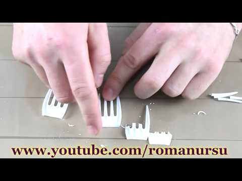 Как сделать клыки вампира своими руками