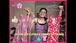 TESTING DOTTI, ALLY FASHION, FACTORIE & THRIFTSHOP?! 🙄🤭😱 SUMMER TRY ON HAUL| SHEREE CHINN