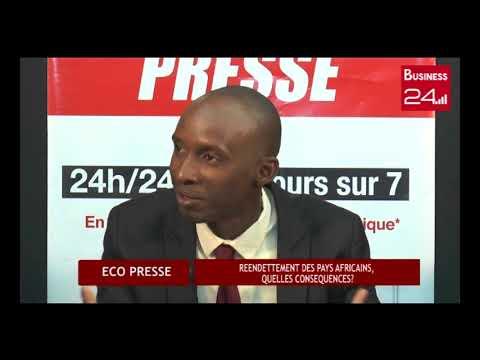 ECO PRESSE - Dette des pays africains - Business 24 -- Présentation: Paul Allé KOUADIO