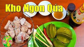 Cách Làm Sườn Non Kho Khế Chua - Chuẩn Cơm Vợ Nấu | Hồn Việt Food