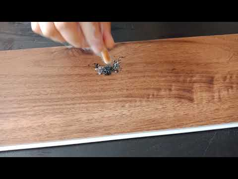 Smoked easy clean vinyl flooring