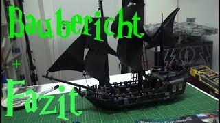 Lepin - 16006 - Black Pearl - Baubericht + Fazit deutsch