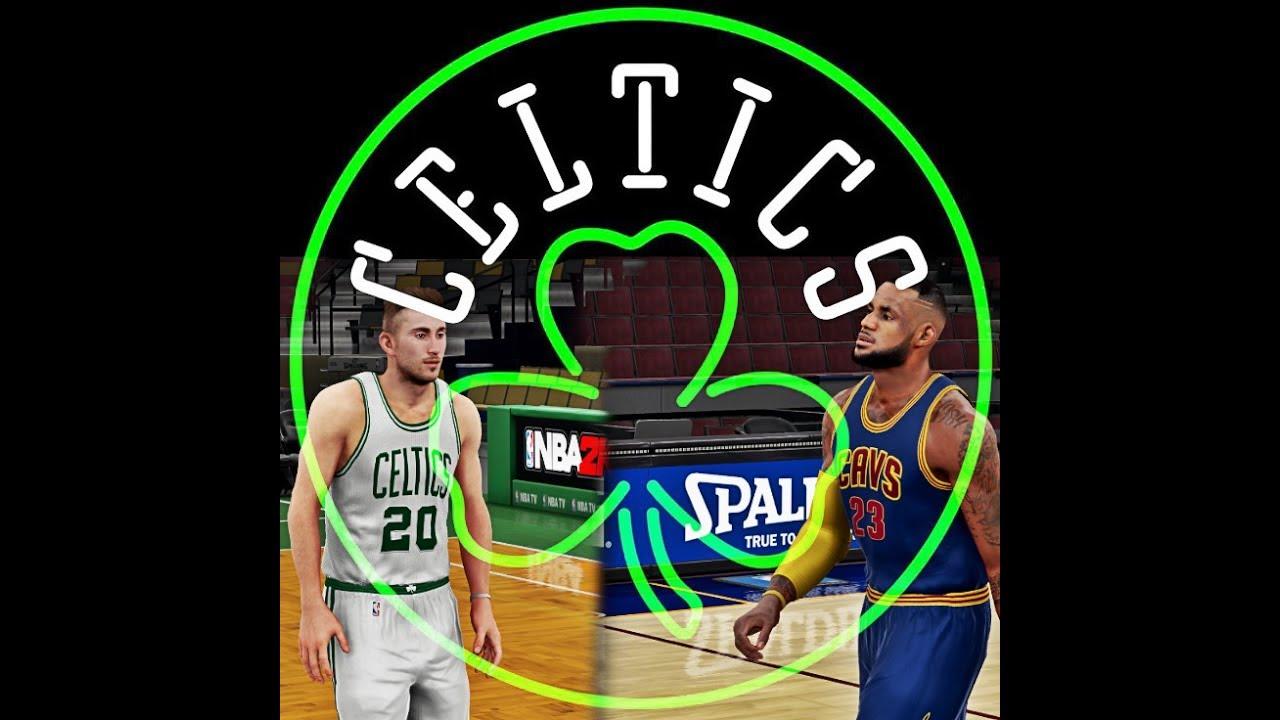 25d20a679 NBA 2K18 Rosters - New Look Cavaliers vs Boston Celtics