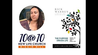 10@10 - The Purpose Driven Life - Day 14 - Annie Temple