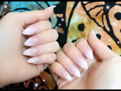 NATURAL LOOKING GEL NAILS - TUTORIAL - The Beauty Adventure