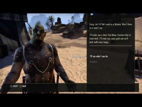 The Elder Scrolls Online - Assassin Beetle Fight & Grubby Grunyun Mission