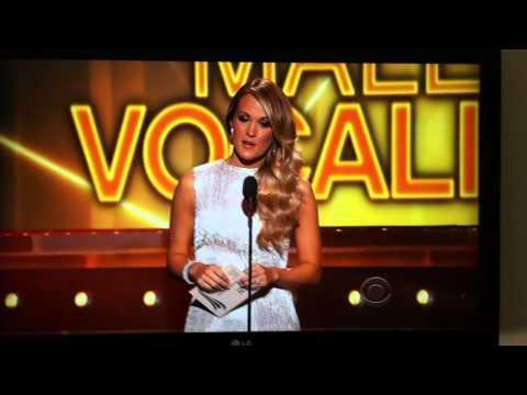 Jason Aldean Wins Top Male Vocalist- Acm Awards 2014