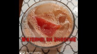 Watermelon Smoothie / 🍉🥤/ Summer Drink / Smoothie Recipe