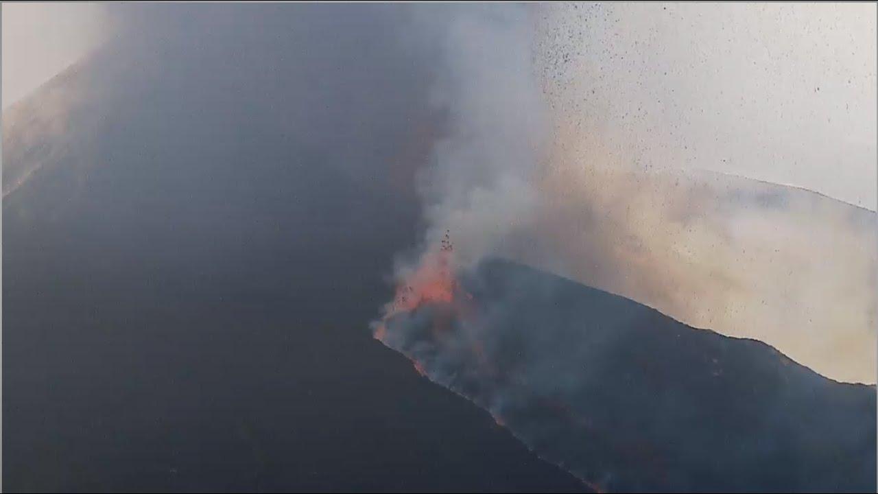 Latest video from La Palma