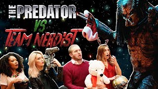 The Predator VS Team Nerdist
