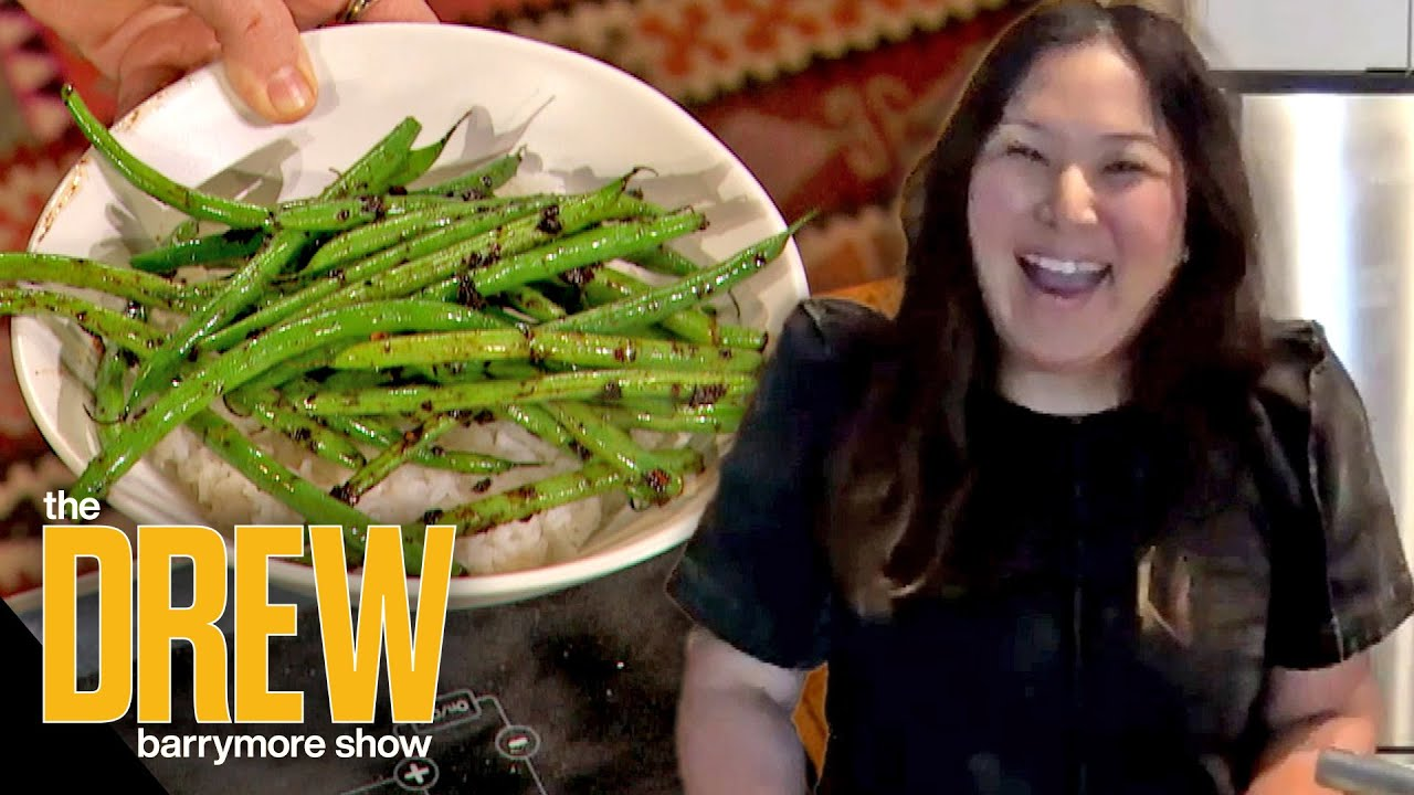 Hetty McKinnon Teaches Drew and Dr. Oz a Black Bean Sauce Recipe Packed with Protein and Fiber