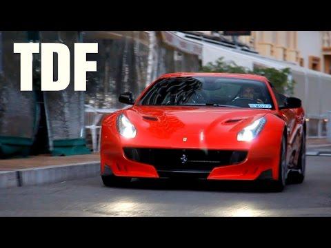 Taking delivery of a Ferrari F12 TDF !