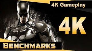 Batman Arkham Knight (PC) - 4K Gameplay - 4K/1440p/1080p Benchmarks - PC Performance (Aug 2016)