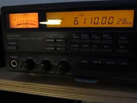 6110 Khz, Radio Fana, Ethiopia