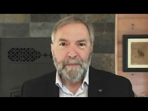 Mulcair blasts May: Put out the 'worst non-denial denial' he's ever seen