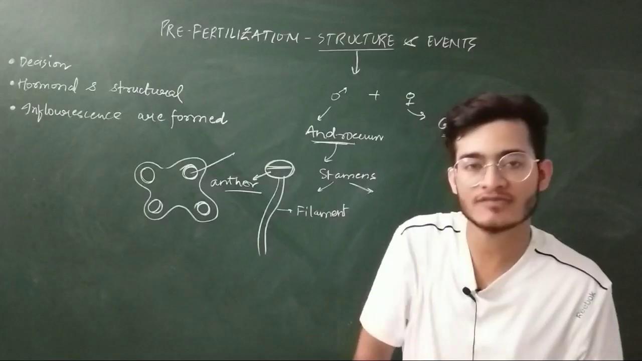 L2: Pre-fertilisation Structure & Events/ Sexual Reproduction of Flowering plants