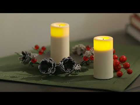 Qvc Flameless Candles Stunning Candle Impressions Set Of 60 Flameless Candles WTimer On QVC YouTube