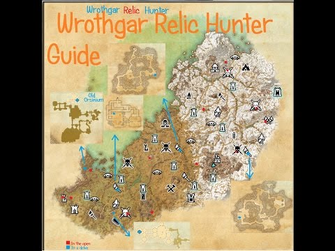 ESO - Wrothgar Relic Hunter guide