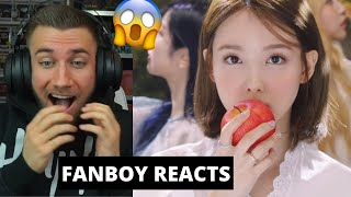 "Baixar I WASNT READY FOR THIS 😳🤯🍭 TWICE ""MORE & MORE"" M/V - Reaction"