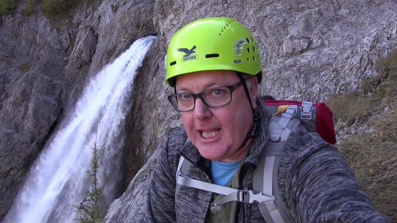 Klettersteig Engstligenalp : Chaeligang klettersteig bei adelboden youtube
