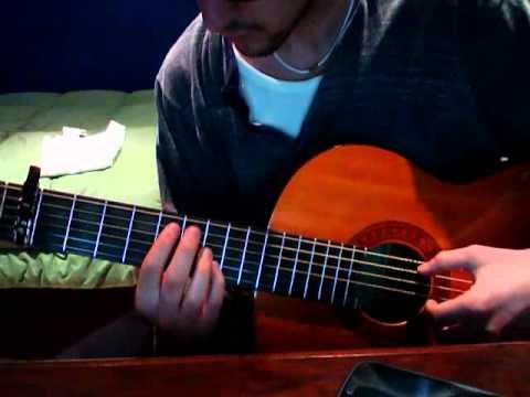 Message to Bears-Wake me (guitar cover)
