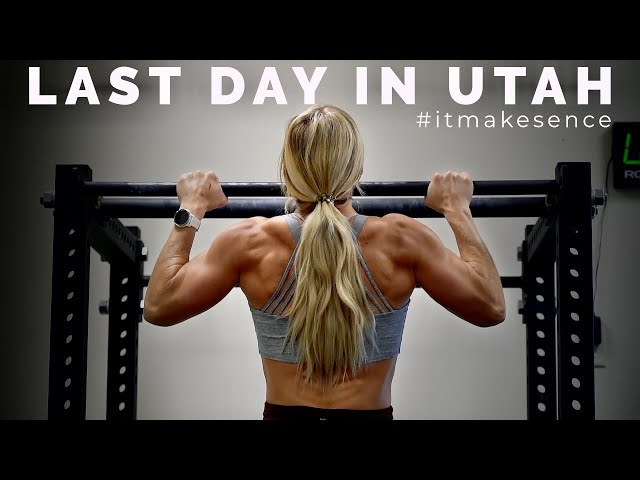 BROOKE ENCE VLOGS | Booty Bands With My Sister and Zion National Park