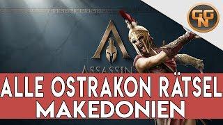 Assassins Creed Odyssey Guide - Alle Ostrakon Rätsel Makedonien Gelöst