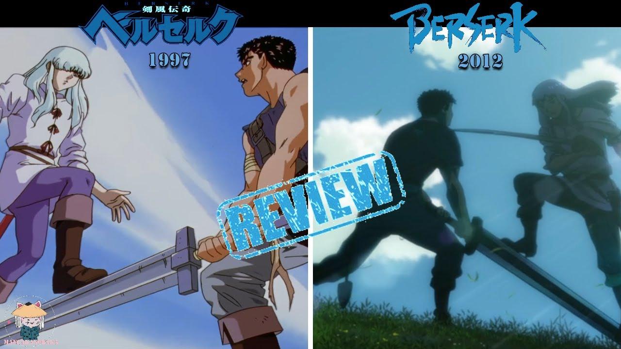 🗡BERSERK 1997 vs Pelicula 2012 | Comparativa: El huevo del REY conquistador | Berserk🔹Kentaro Miura