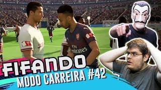 A PRIMEIRA FINAL DE CRISTIANO RONALDO - MODO CARREIRA - FIFA 19