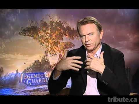 Sam Neill (Legend of the Guardians: The Owls of Ga'Hoole) Interview