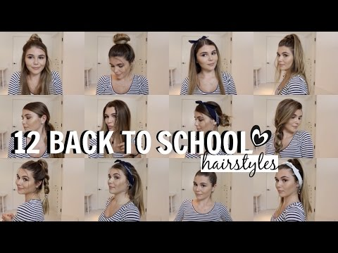 12 BACK TO SCHOOL HEATLESS HAIR STYLES // OLIVIA JADE