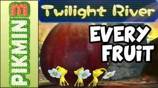 Pikmin 3 - All Fruit Locations in Twilight River (Wii U 100% Gameplay Walkthrough)