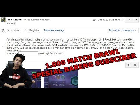 Special Untuk PG Lovers 1.000 Match Brawl - Mobile Legends Bang Bang