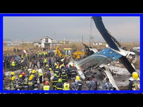 Kathmandu plane crash: At least 38 dead as flight from Dhaka ends up in a fireball