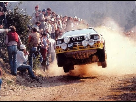 The infamous Group B rally car class