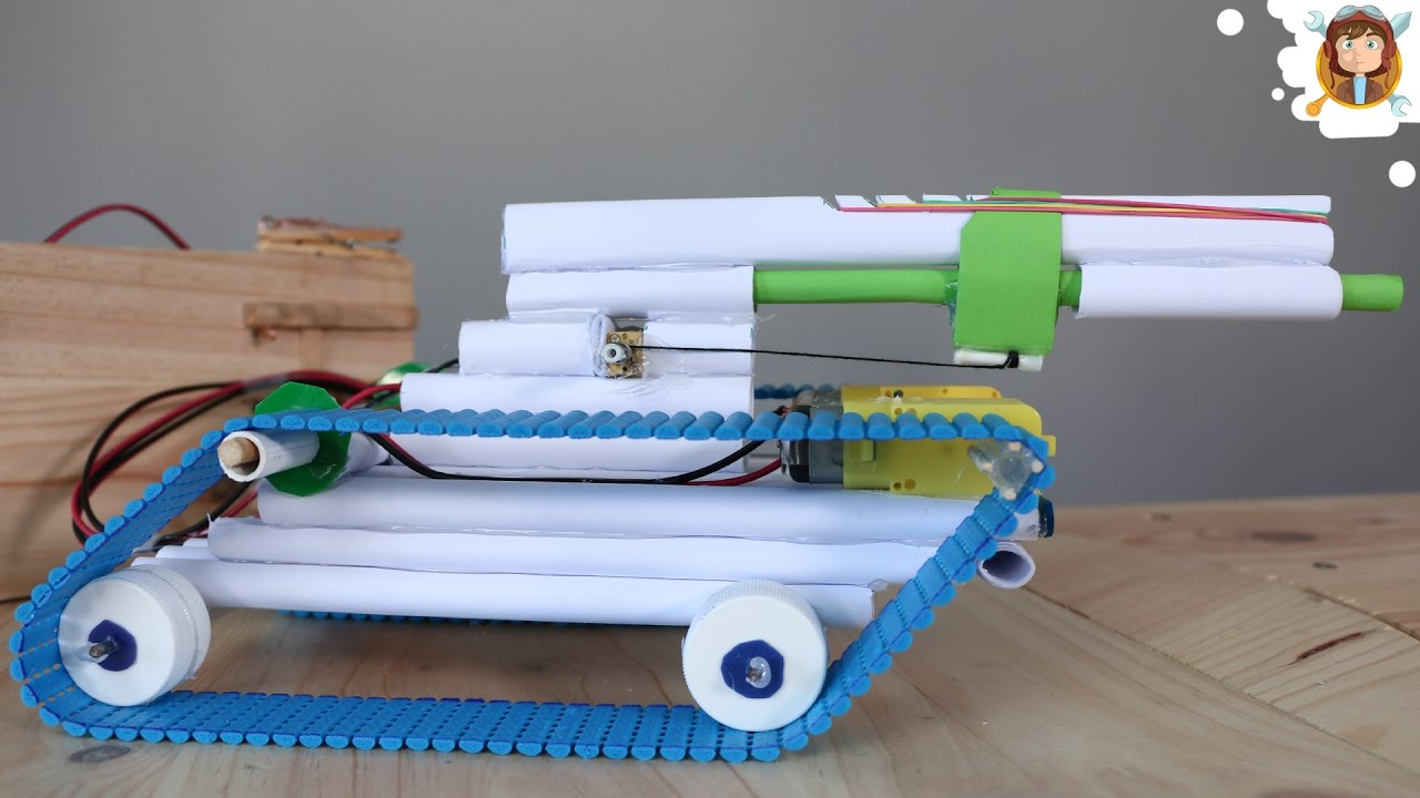 Como hacer un tanque de guerra de papel que dispare youtube - Como hacer un estor enrollable paso a paso ...