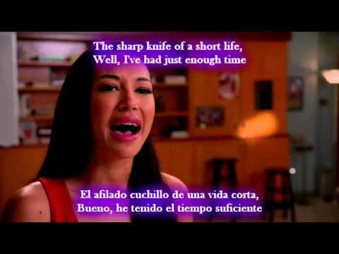 Glee - If I die young / Sub spanish with lyrics
