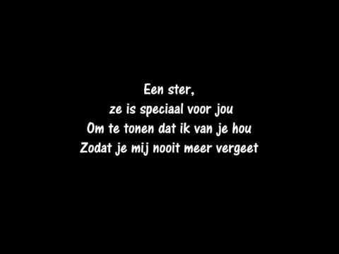 Stan Van Samang - Een ster (songtekst)
