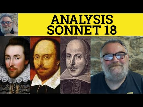 shakespeare shall i compare thee to a summers day analysis