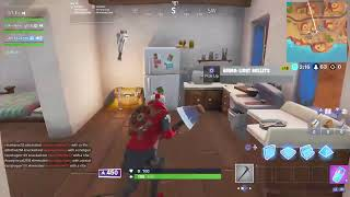 Fortnite with damin trying to get andrew a win